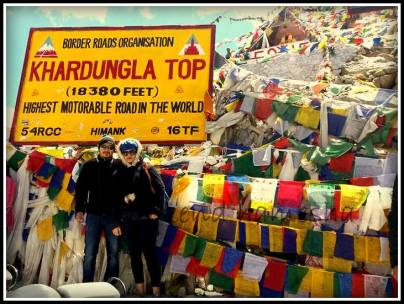 World's highest motorable road